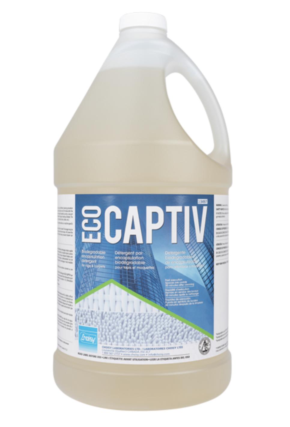 ECO-CAPTIV | DÉTERGENT PAR ENCAPSULATION BIODÉGRADABLE POUR TAPIS ET MOQUETTES | 3.8L