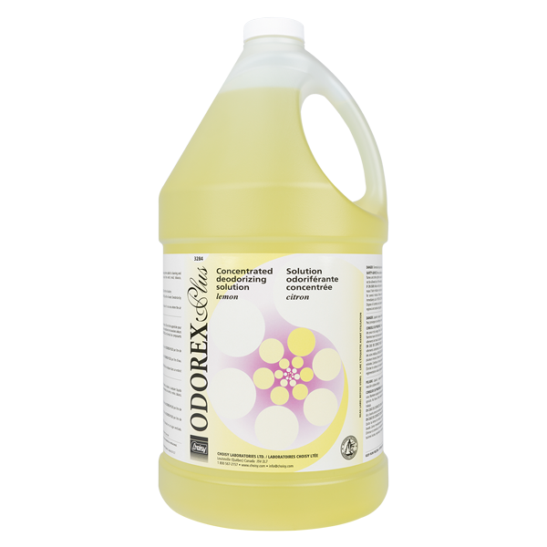 ODOREX-PLUS - CITRON | SOLUTION ODORIFÉRANTE CONCENTRÉE | 3.8 L