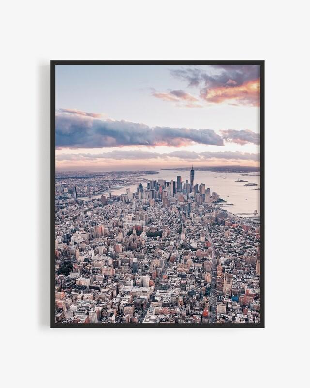 Sunsetting over Manhattan