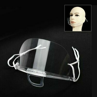 10pcs Microblading Reusable Plastic Mouth Mask