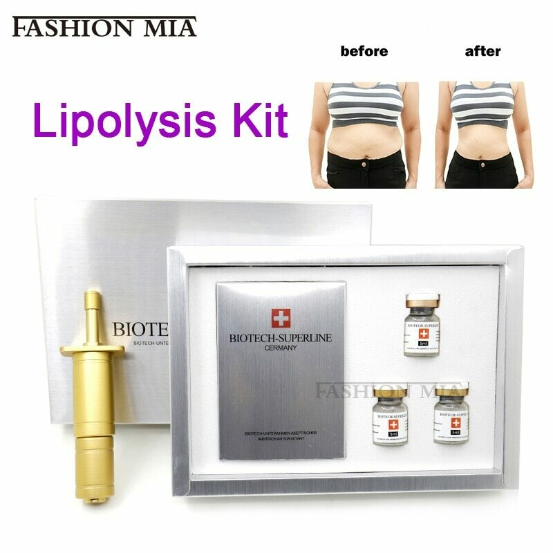 Lipolysis Substance kit 5mlx3 liposuction Cold Freeze Shaping Body Slim Weight Fat