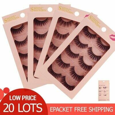 100 Pairs Mink Eyelashes