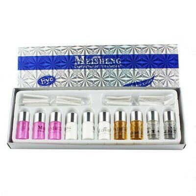 Eyelash Perm Lotion Kit for Eyelashes Perming Curling Lash Lift