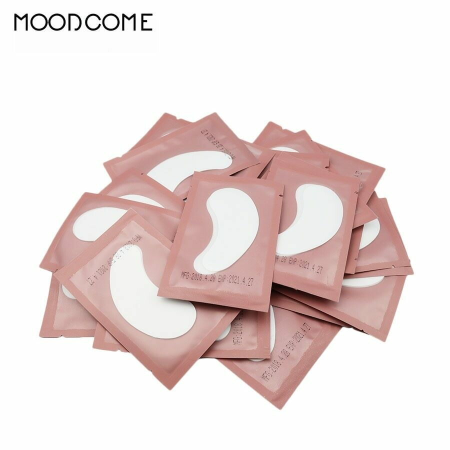Eye Pads 50/100 Eyelash Under Eye Pads Lint Free Patches