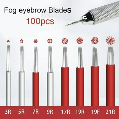 100pcs Microblading blades Shading Hard RL5 liner Microblading