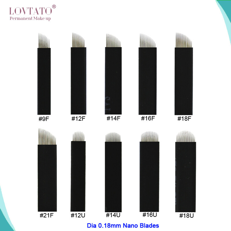 Extremely Thin 0.18mm Nano blades microblading needles