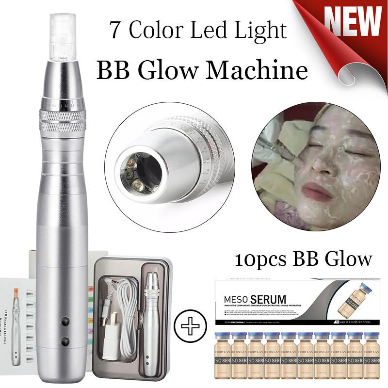 7 Color Led Light BB Glow Machine plus 10pc BB Cream