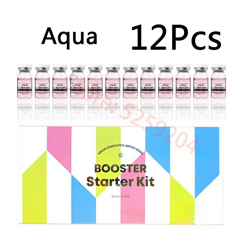 12pcs 8ml BB Cream Glow Mesowhite Ampoule Skin Booster Starter Kit