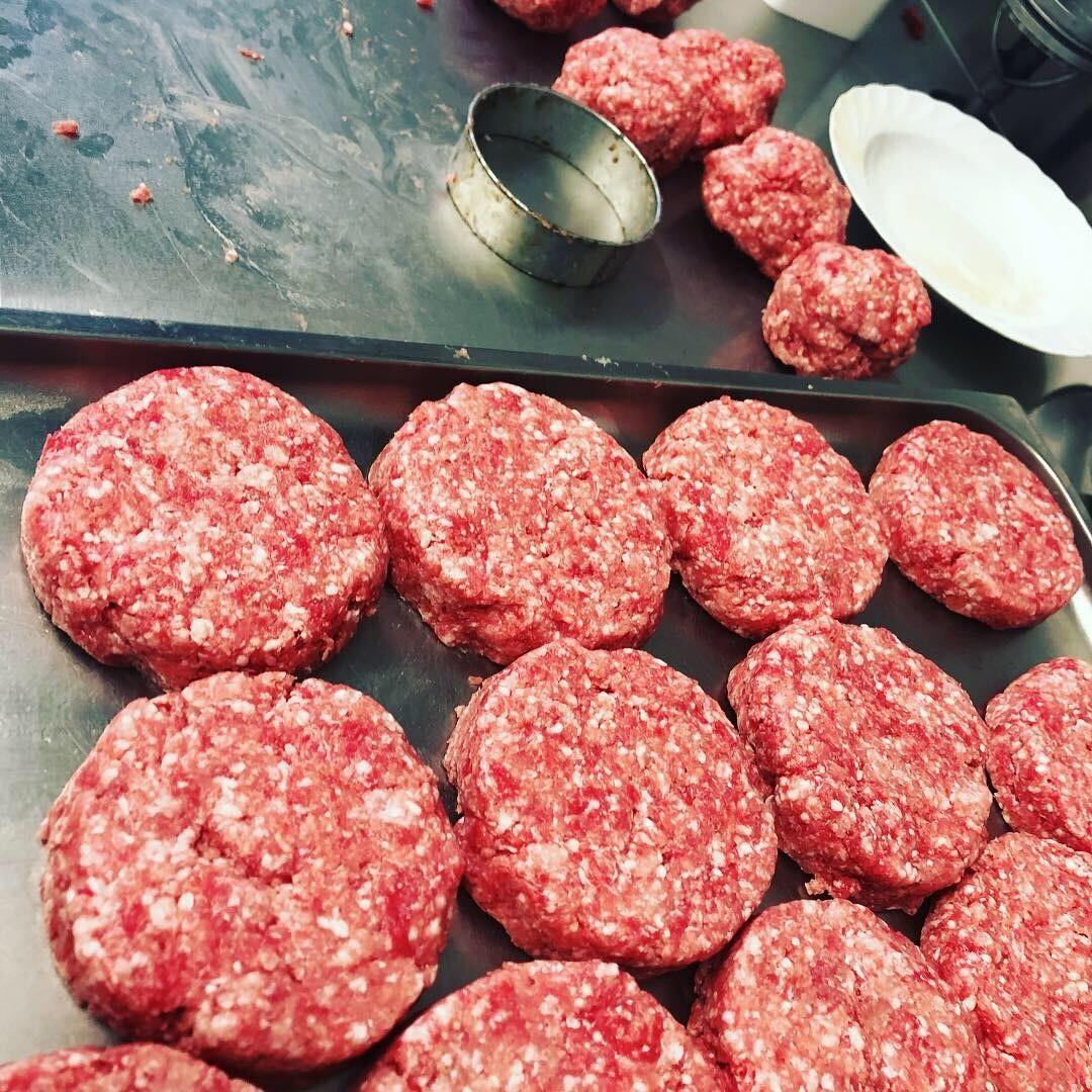 Burger Pattie vom Duroc Schwein 220g