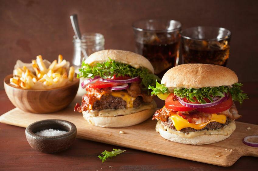 Cheeseburger - Box für Zwei