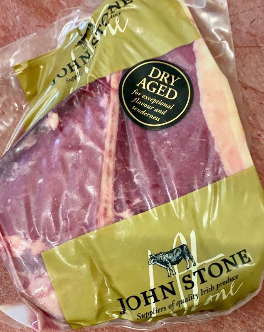 John Stone T-Bone Steak DryAged