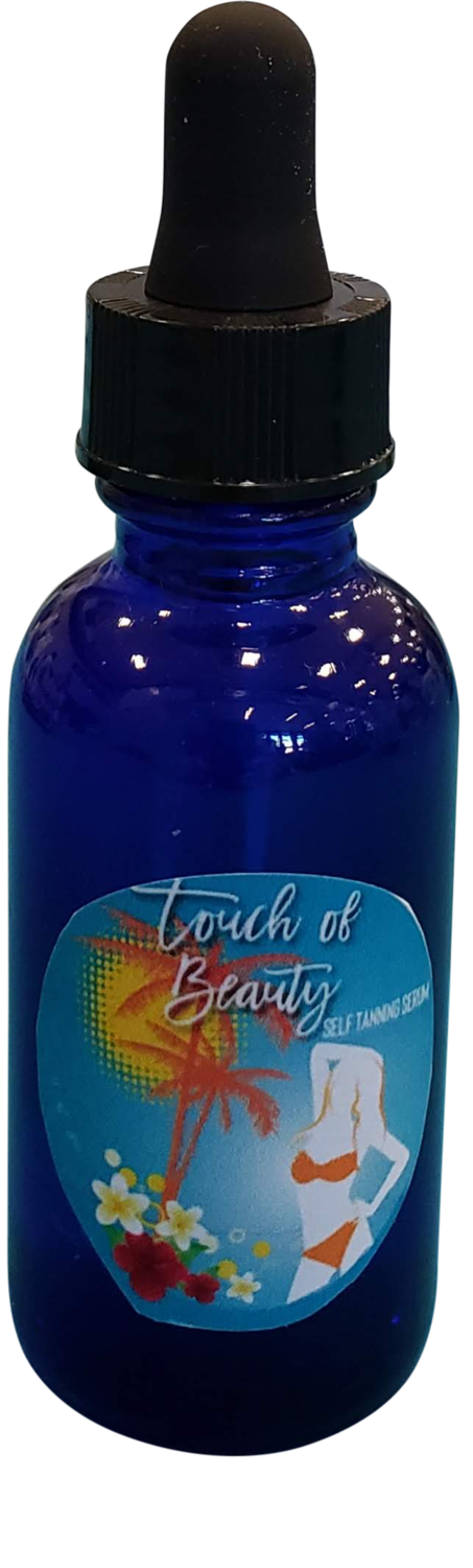 Touch of Beauty Self Tanning Serum - 1 oz