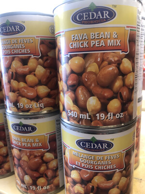 Fava Chick Pea Mix