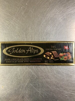 Dark Chocolate With Hazelnuts 300g