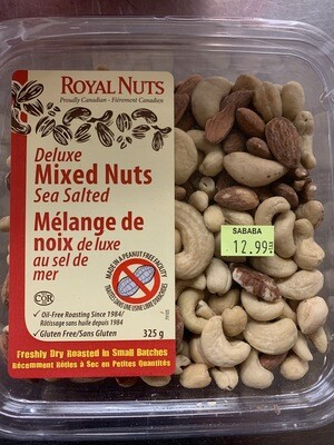 Mixed Nuts Sea Salted