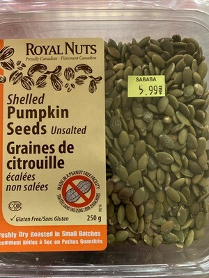 Shelled Pumpkin Seeds Unsalted