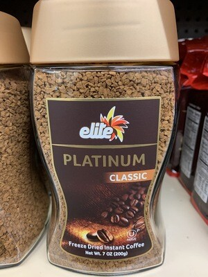 Elite Freeze Dried Instant Coffee
