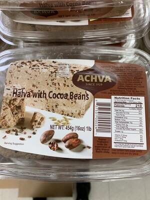 Achva Halva With Cocoa Beans