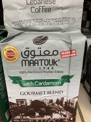 Mattouk Coffee With Cardamon (450gram)