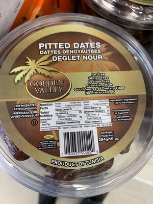 Pitted Dates 284g