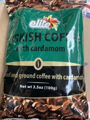 Elite Turkish Coffee With Cardamon