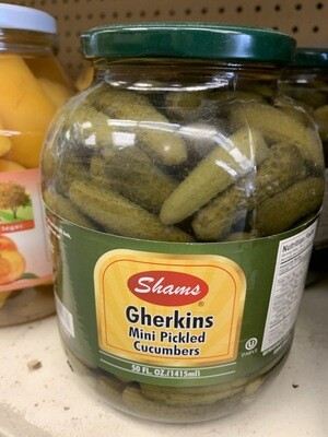 Mini Pickled Cucumbers