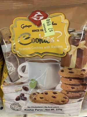 Granola Cookies With Raisins