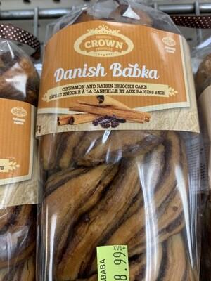 Cinnamon And Raisin Babka Cake
