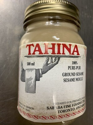 Sababa Raw Tahini 500gram