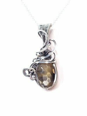 Antiqued Elegance - Sterling Silver