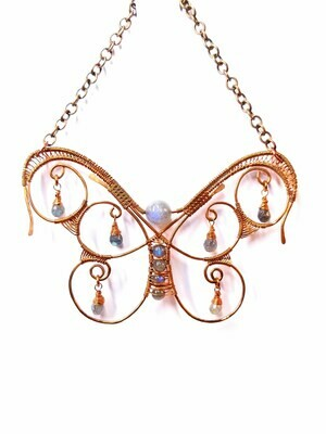 Butterfly In Stasis Sun Catcher