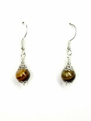 Agate Drop Earrings