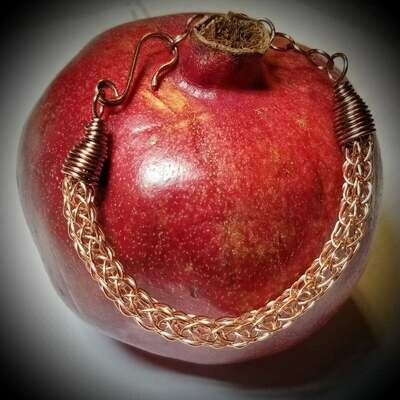 Viking Knit Copper Bracelet
