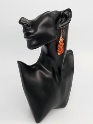 Captured Fire Earrings