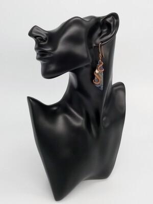 Captured Water Earrings