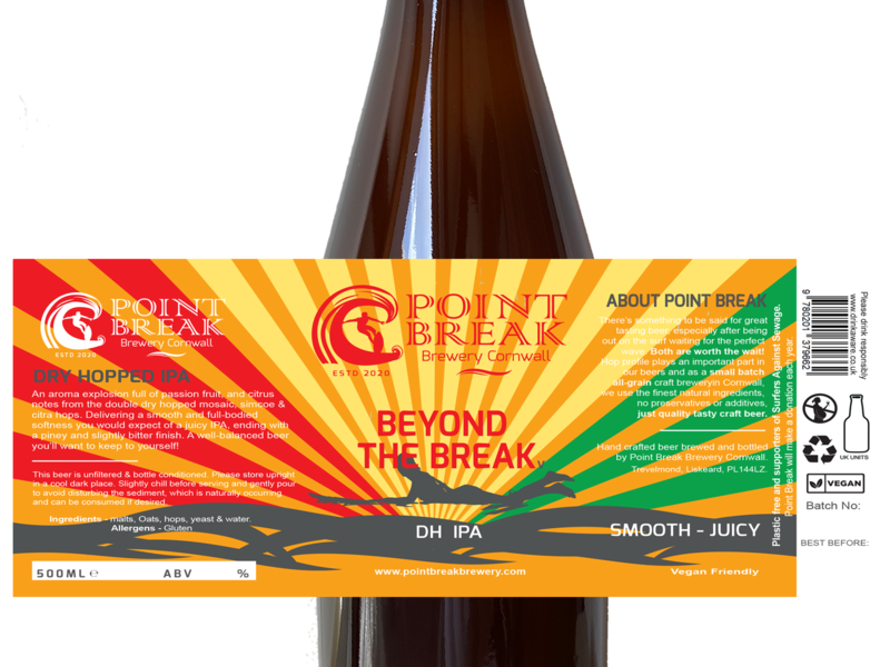 BEYOND THE BREAK - DH IPA V3 -500ml - 5.2% ABV