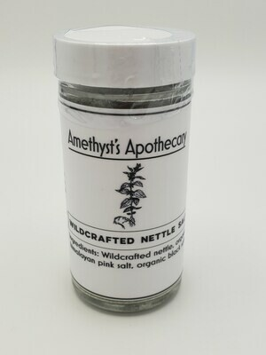 Amethyst's Apothecary- Wildcrafted Nettle Salt