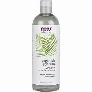 Now- Vegetable Glycerine