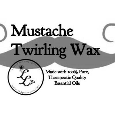 Mustache Twirling Wax