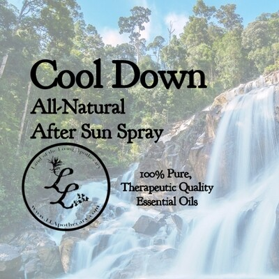 Cool Down   All-Natural After Sun Spray Blend