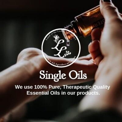 Single Essential Oils (T-Z)