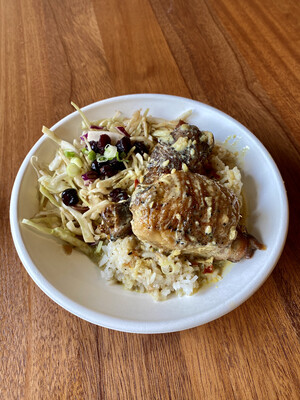 SOUTH PACIFIC COCONUT CHICKEN RICEBOWL