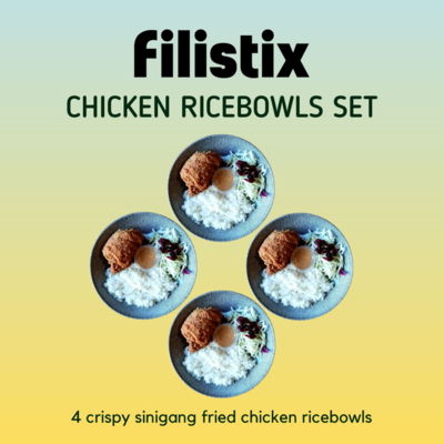 CRISPY CHICKEN RICEBOWLS SET (SAVE $4!)