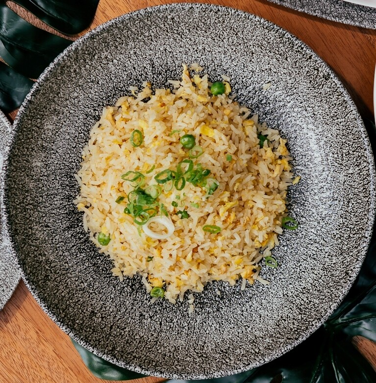 Ginger Scallion Fried Rice