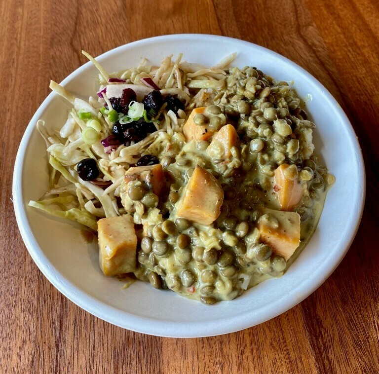 Large - Lentil Curry with Sweet Potato