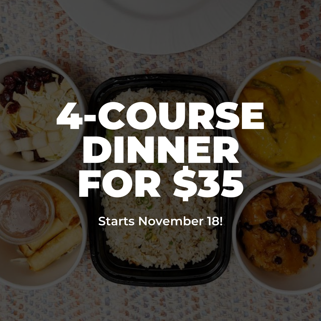 4-Course Dinner Special