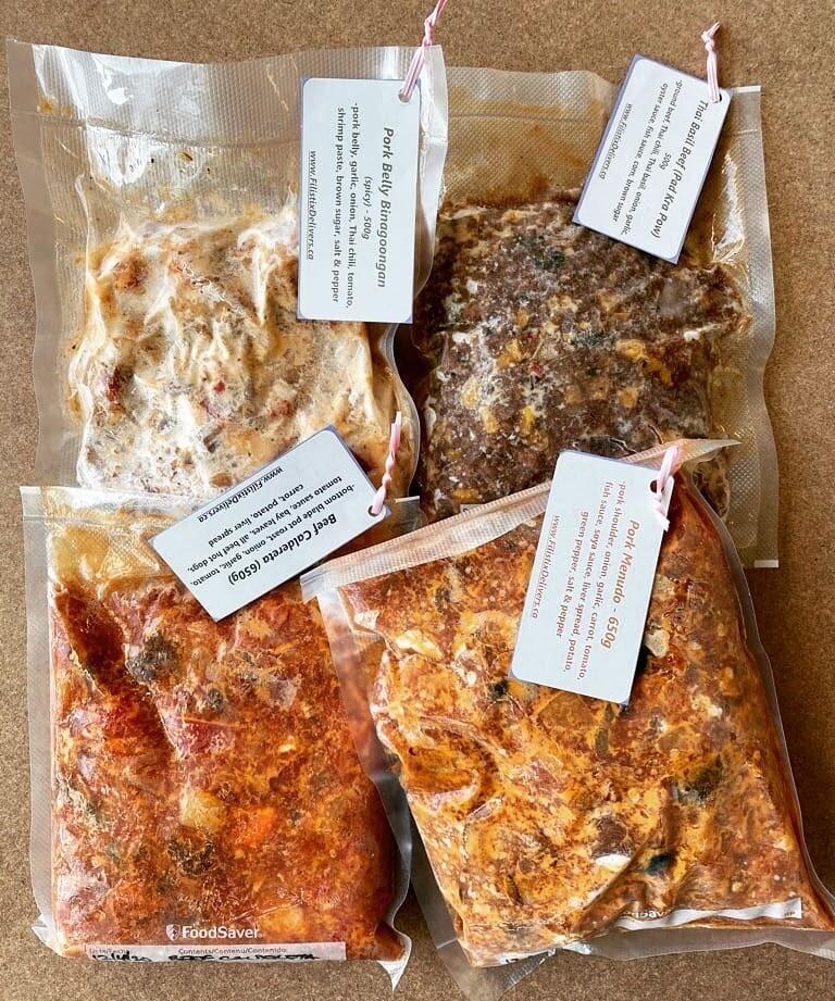 Frozen Pork Belly Binagoongan