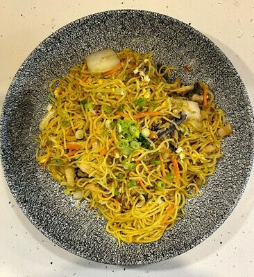 Ginger Scallion Fried Noodle