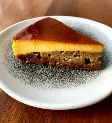 Leche Flan Banana Cake
