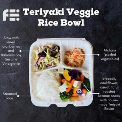 Teriyaki Veggie Bowl
